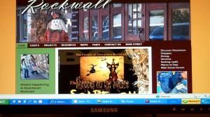 Rockwall Main Street Website